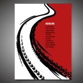 Fotografie Grunge Tire Poster-08