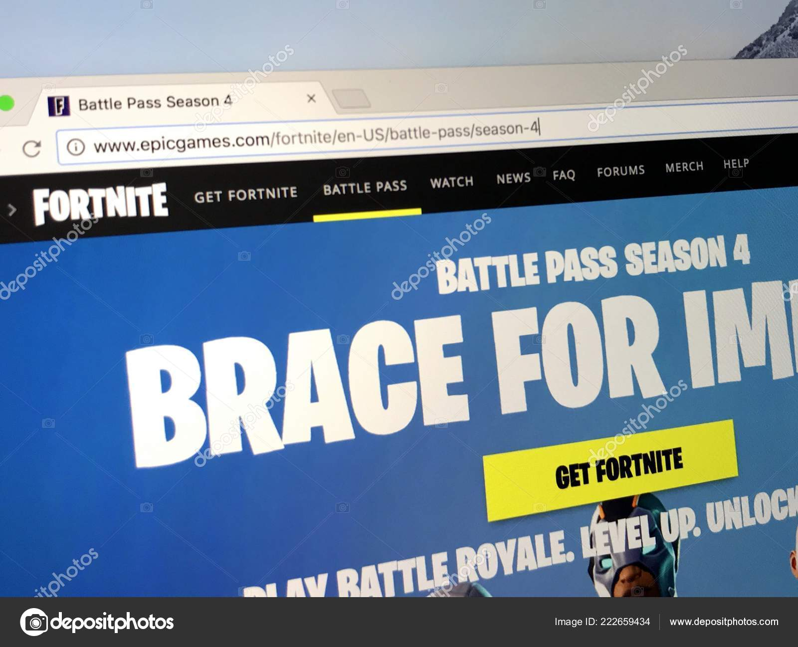 Amsterdam Netherlands May 2018 Official Homepage Fortnite Season
