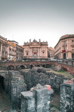 the old town of rome, italy