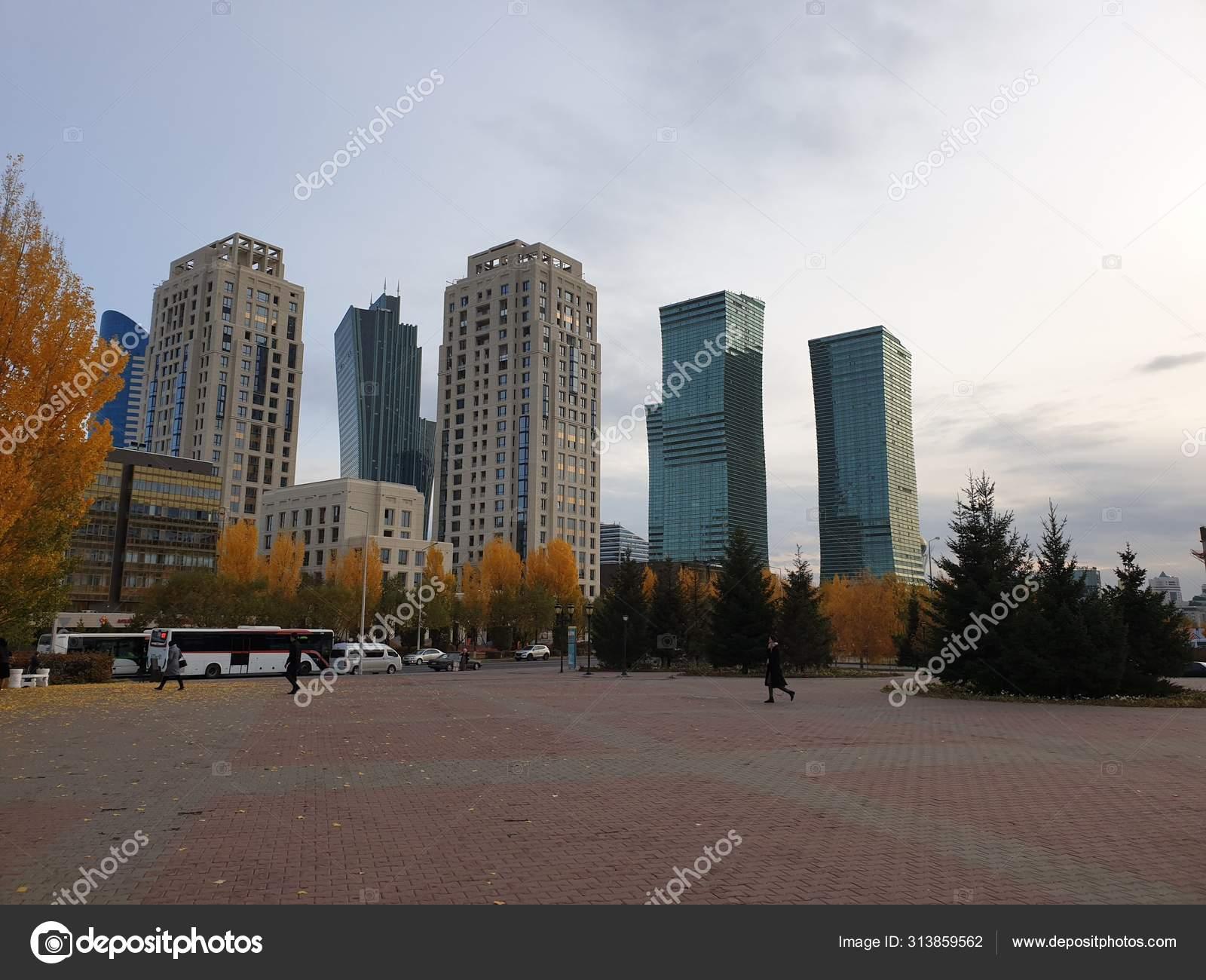 Обои здания, свет, дома, kazakhstan, казахстан. Города foto 15
