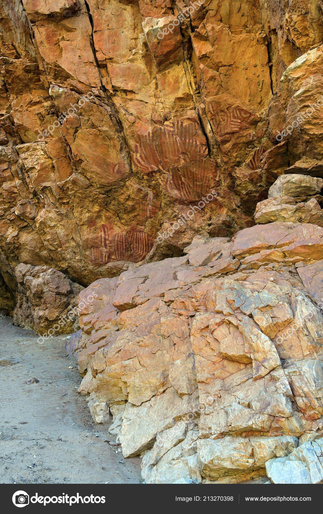 Australia Aboriginal Rock Art Emily Gap East Mcdonnell Range