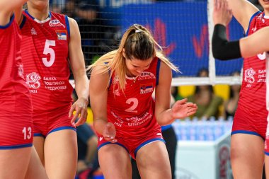 Volleyball Intenationals Nations League Women - Serbia Vs Dominican Republic
