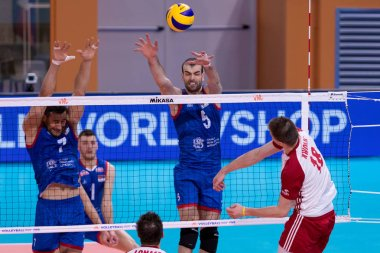 Volleyball Intenationals Nations League Men - Polonia Vs Serbia