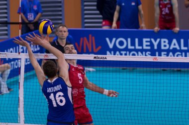 Italian Volleyball National Team Nations League Men 2019 - Italy Vs Serbia