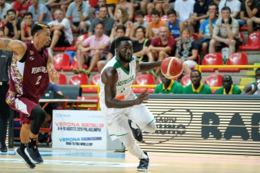 Iternational Basketball Teams Verona Basketball Cup 2019 - Senegal vs Venezuela