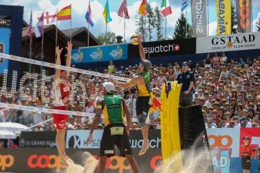 Beach Volley Gstaad Major 2019 - Day 5 - Men Semifinals