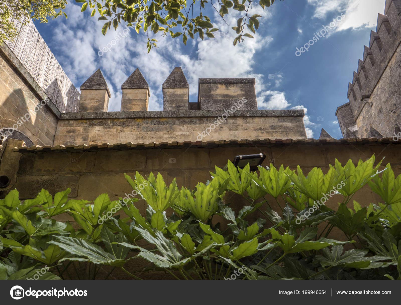 Almodovar Del Rio Cordoba Spain June 2018 Gardens Access Homage ...