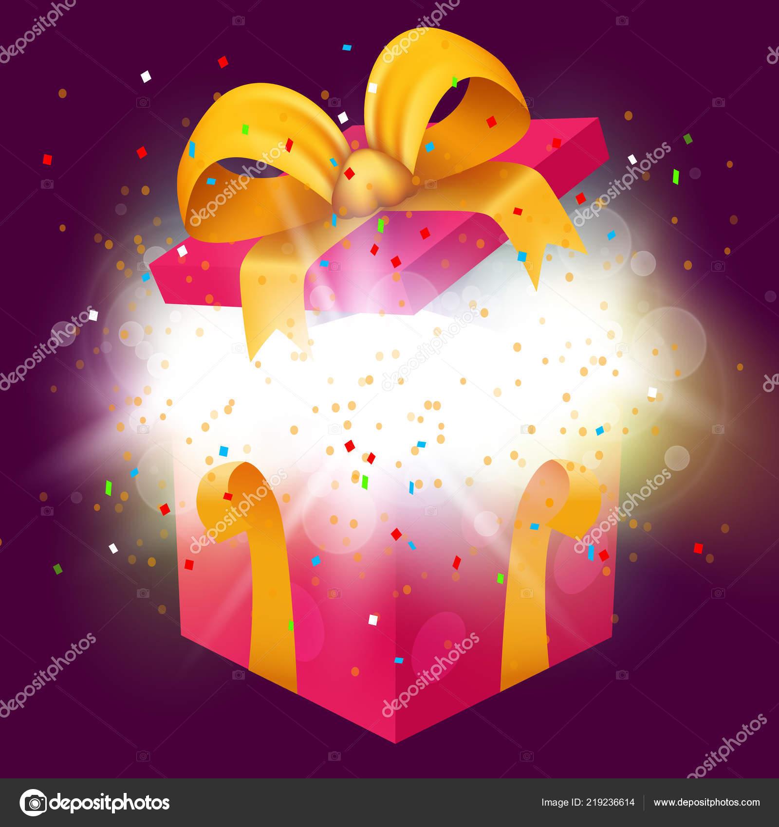 Cadeau surprise explode