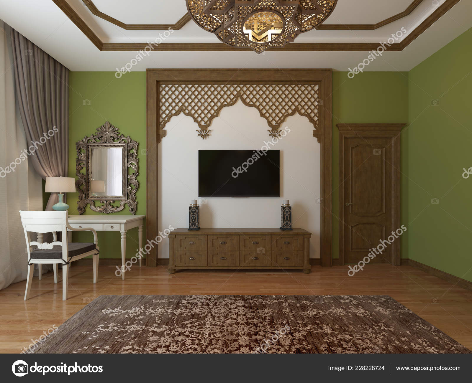Fantastic Unit Wooden Frame Arabic Style Eastern Bedroom Style Home Interior And Landscaping Elinuenasavecom