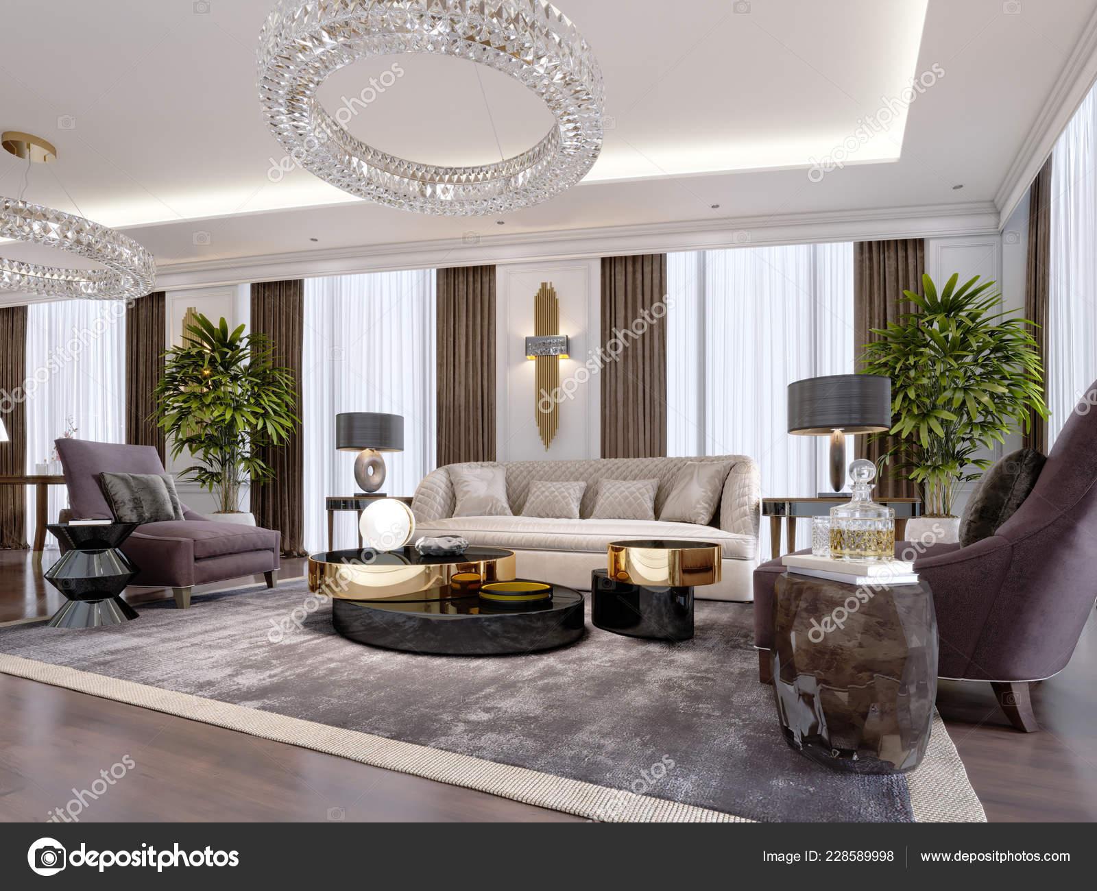 Mobili Di Lusso Moderni : Design appartamenti lusso stile moderno con mobili design grandi