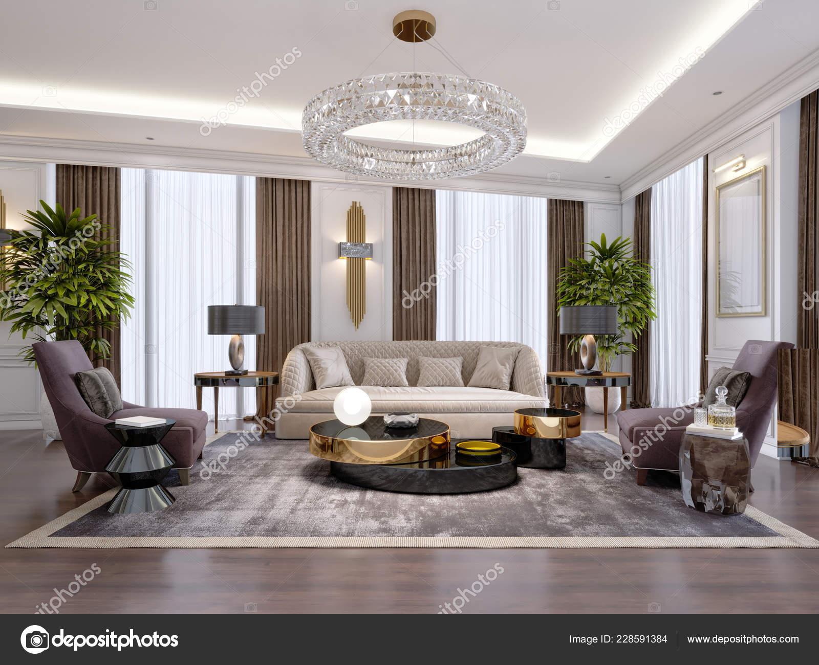 Design Luxury Apartments Modern Style Designer Furniture ...