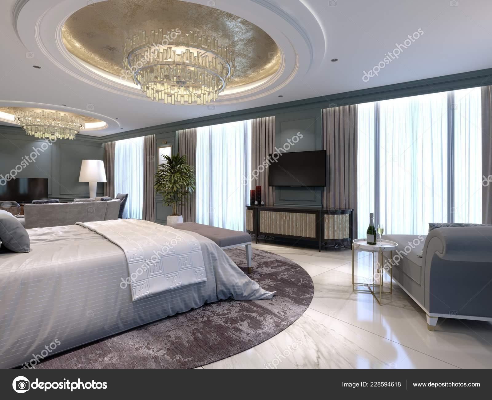 Appartamenti Lusso Con Una Camera Letto Soggiorno Stile ...