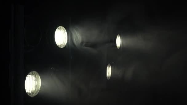 Projektory s světlo se zapíná a vypíná