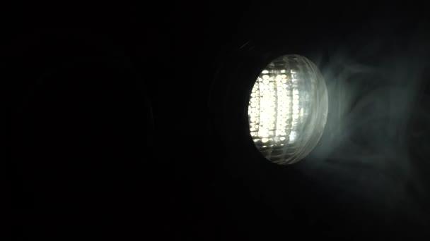 Dos luces en un cuarto oscuro — Vídeo de stock © KinoMasterDnepr ...