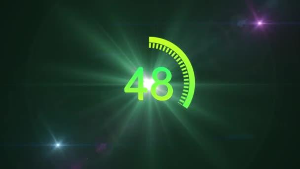 60 second brilliant countdown