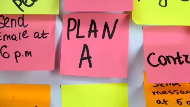 Iscription terv egy-ra egy böllér változik a felirat Plan B
