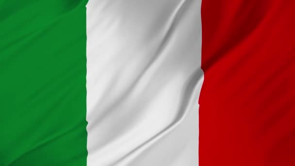 Italy flag fabric texture waving in the wind 2 in 1