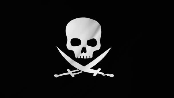 Pirate Flag di Calico Jack Rackham computer animazione 2 in 1