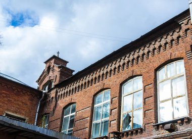 Research walk through the abandoned liquor factory, a wine warehouse of the Association of the brothers Pokrovsky