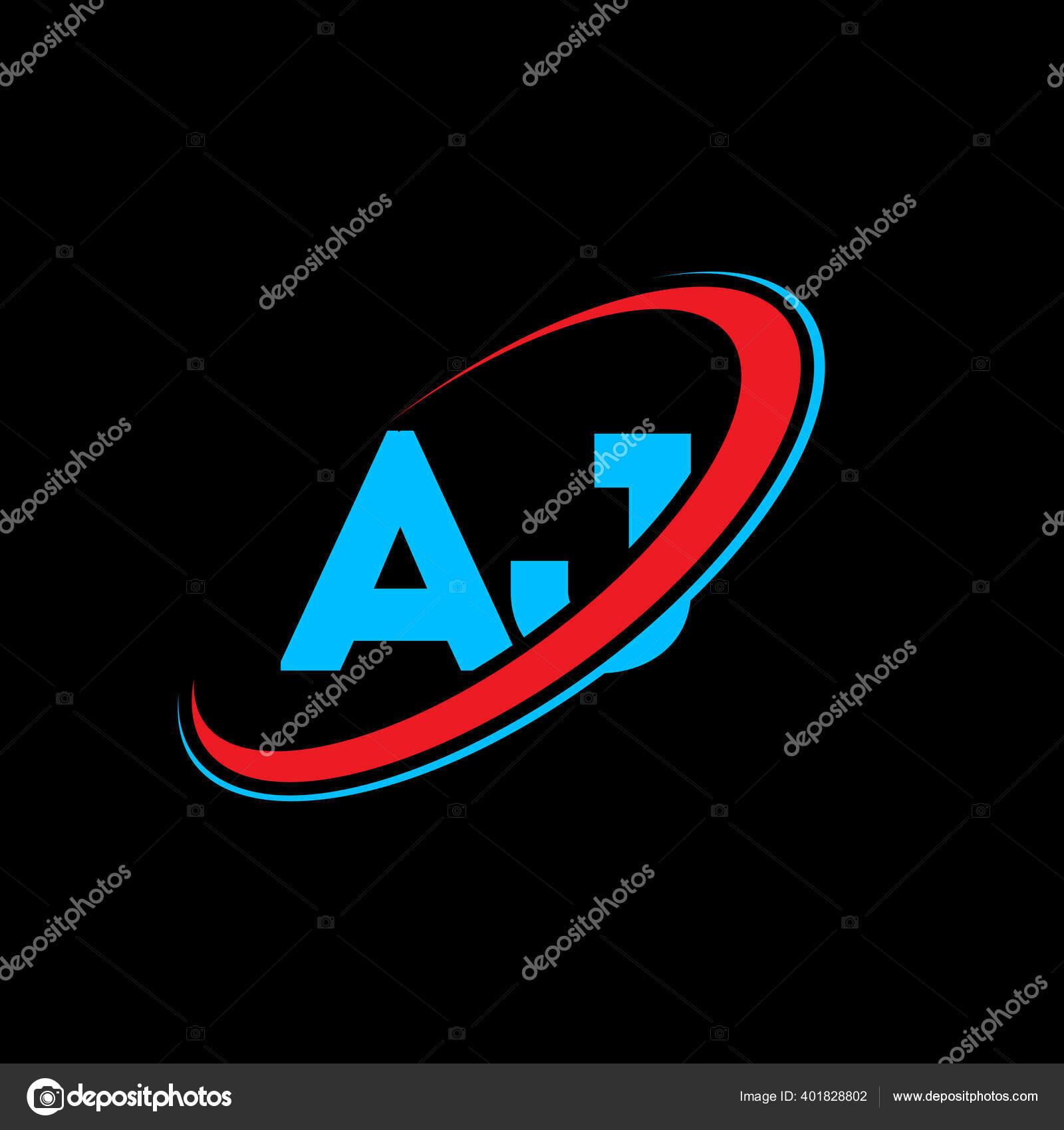 Vektorgrafiken Diseño del logo aj Vektorbilder Diseño del logo aj ...