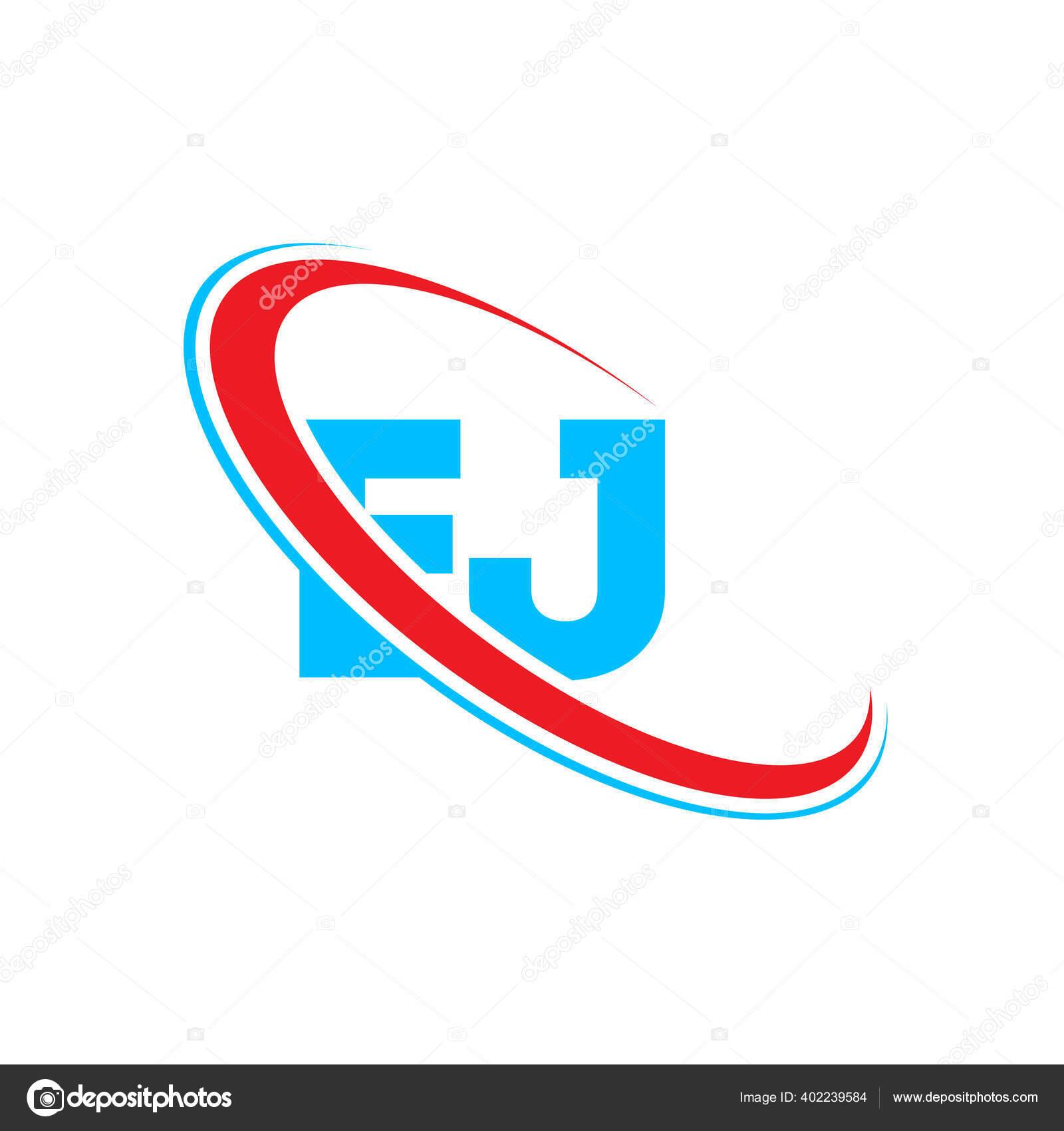 Desain Logo Huruf Huruf Awal Ejlinked Lingkaran Upercase Logo Monogram Stok Vektor C Mamuntwofiveg 402239584