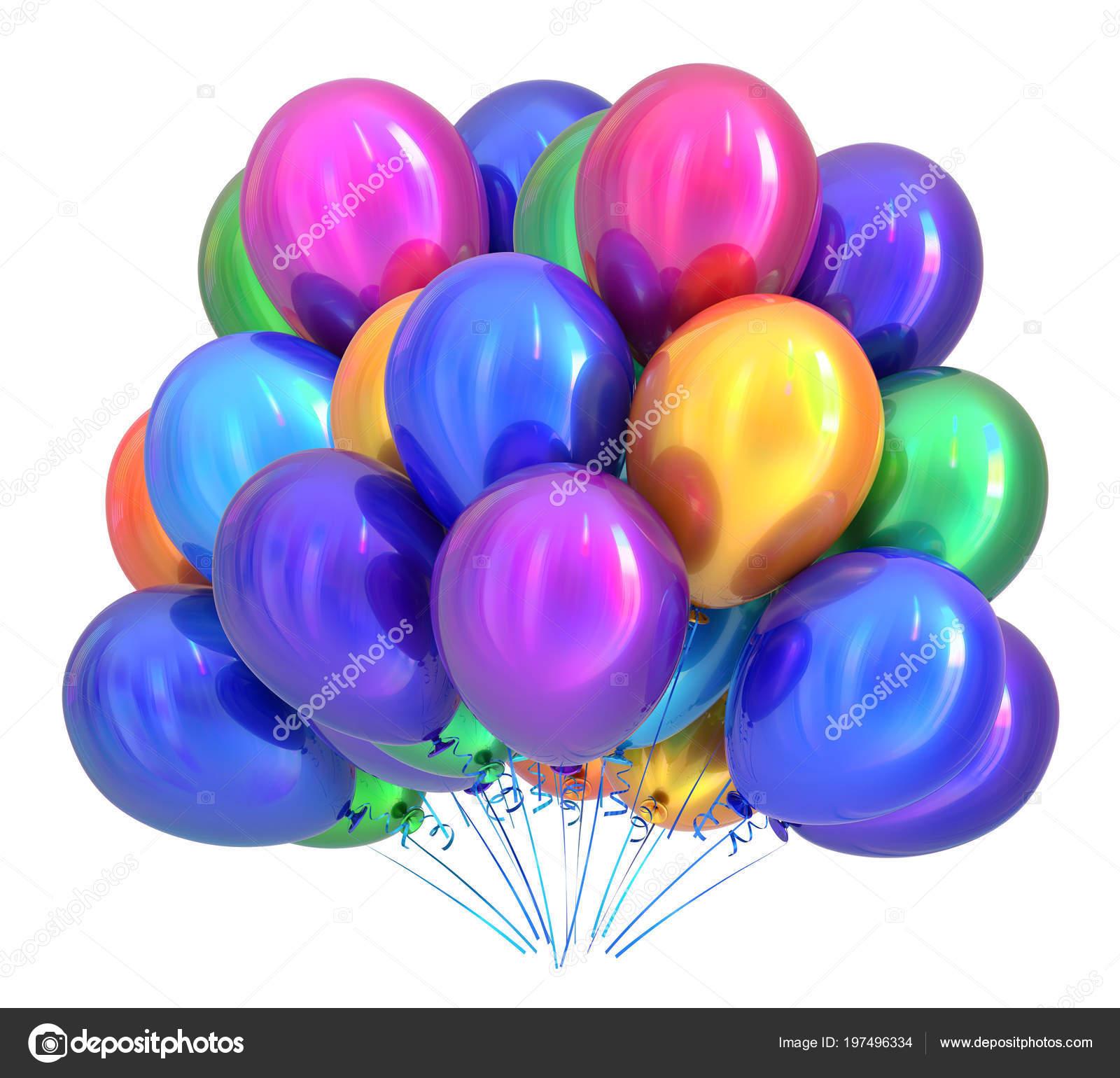 Verjaardag Ballonnen Feestdecoratie Multicolor Ballon Bos Kleurrijke
