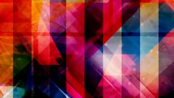 Abstract Geometric Patterns and Stripes with Flowing Cubes - 4K Seamless Loop Motion Background Animation