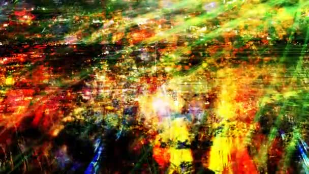 Colorful Abstract Light Shining on Grungy Surface - 4K Seamless Loop Motion Background Animation