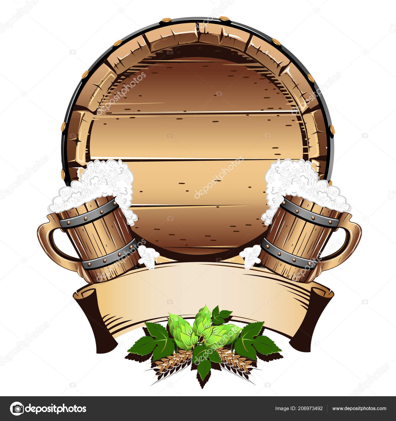 Bier Holzfass
