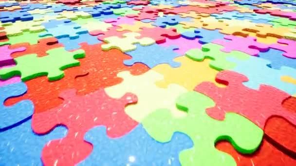 Nádherná barevná hádanka-abstraktní koncepce.