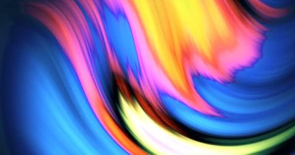 Duhově rozmazané vlny
