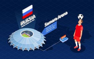 Football World Cup Illustration
