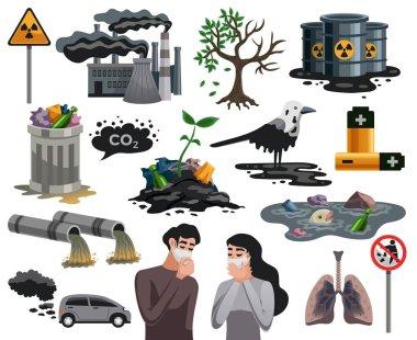 Pollution Ecological Disaster Set