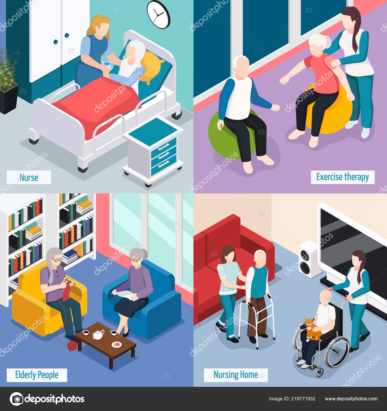 Концепция домов для престарелых условия в интернате для престарелых