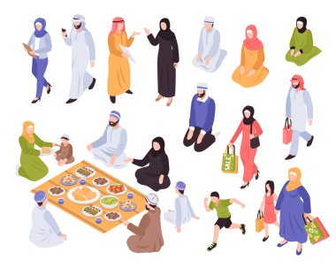 Arab Family Set
