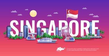 Singapore Panoramic View