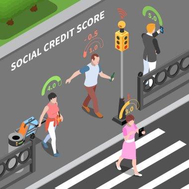 Social Credit Score Composition