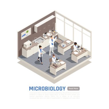 Microbiology Isometric Composition