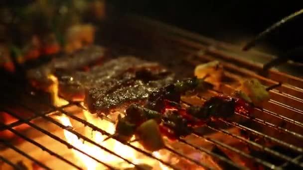 Street Thai ételek, grillezett grill