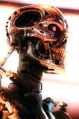 OSAKA, JAPAN - 17. Juni 2020: Foto des T-800 Endoskeletts vom Terminator 3D, einer der berühmtesten Attraktionen in den Universal Studios Japan.USJ Wiedereröffnung nach COVID-19