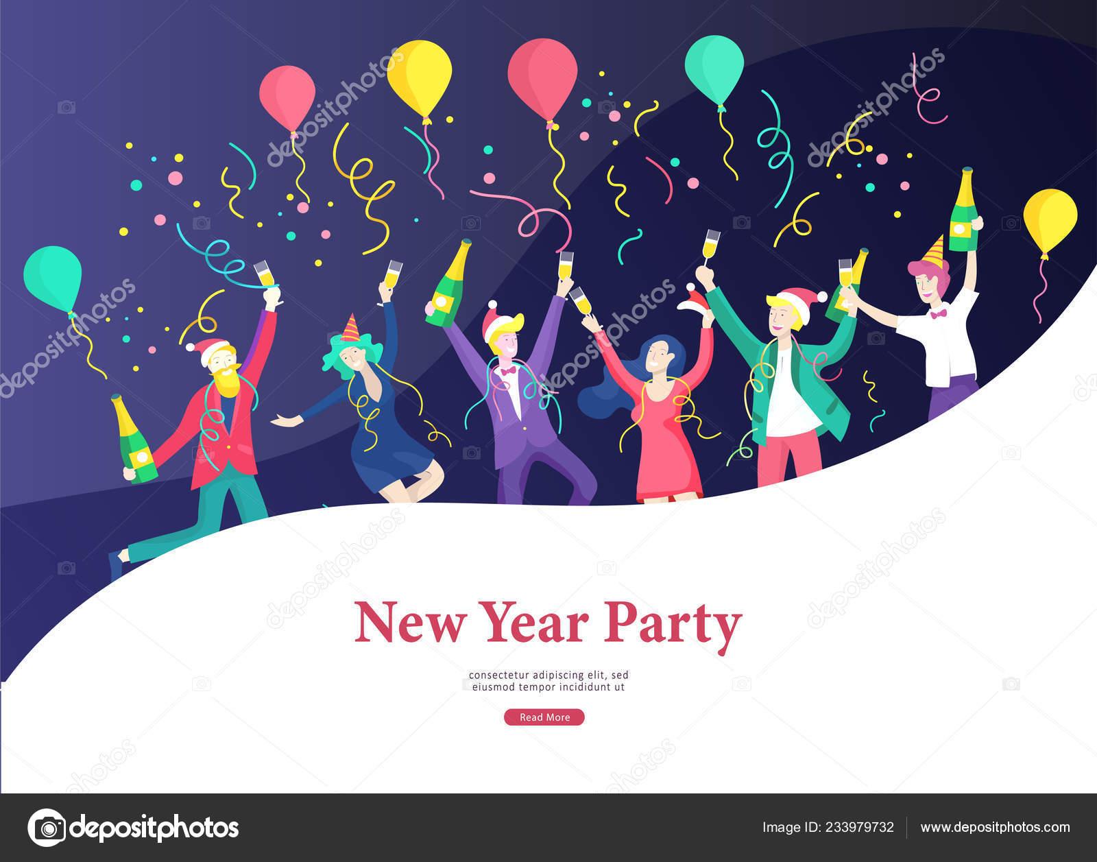 Company happy new year cards