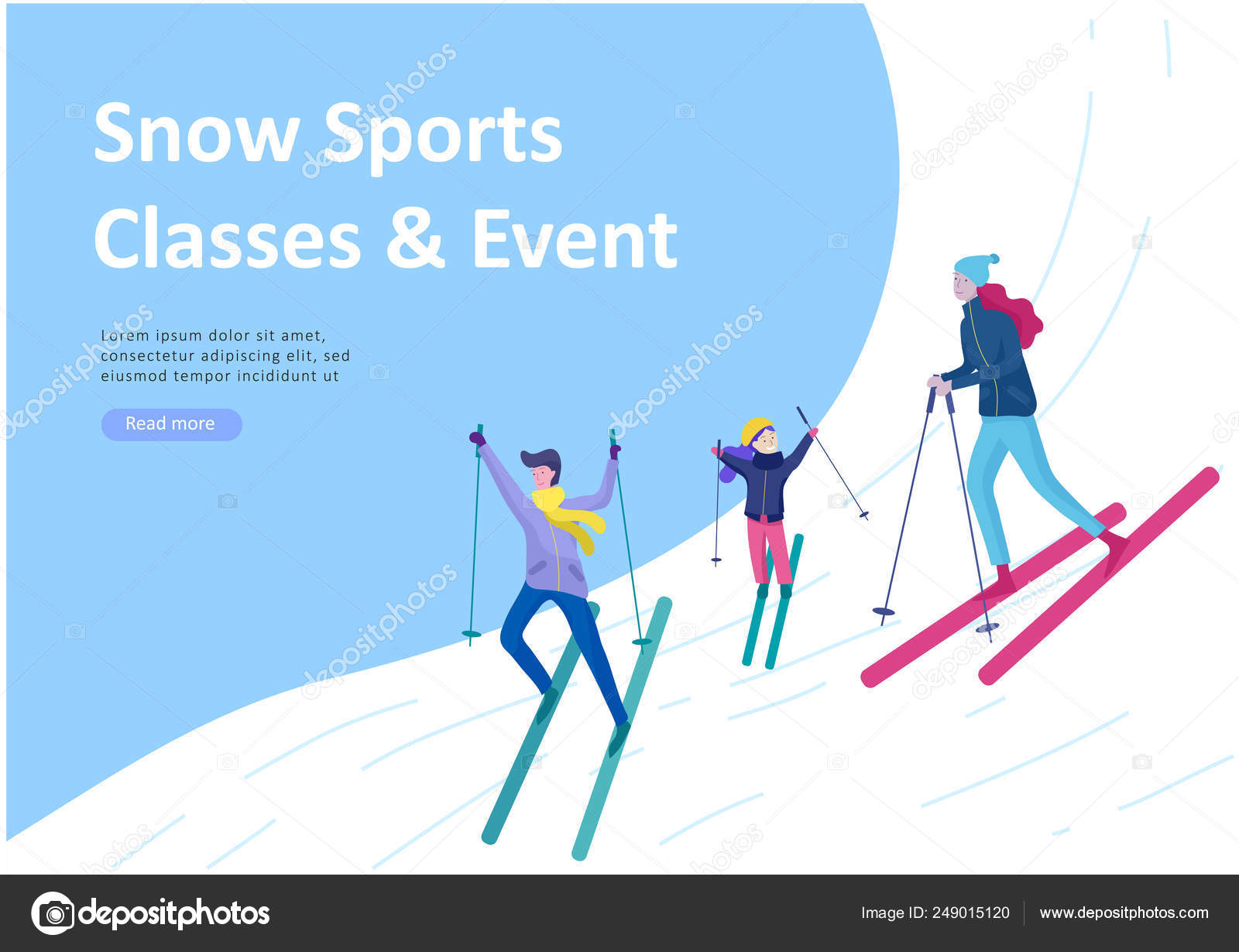 7b20d3827f People dressed in winter clothes or outerwear performing outdoor activities  fun. Snow festival