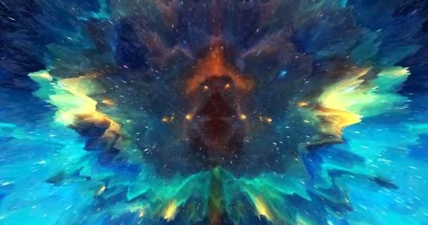 abstraktní pozadí malby 5