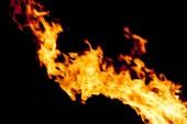 Fotografia bel fuoco, fiamma texture sfondo