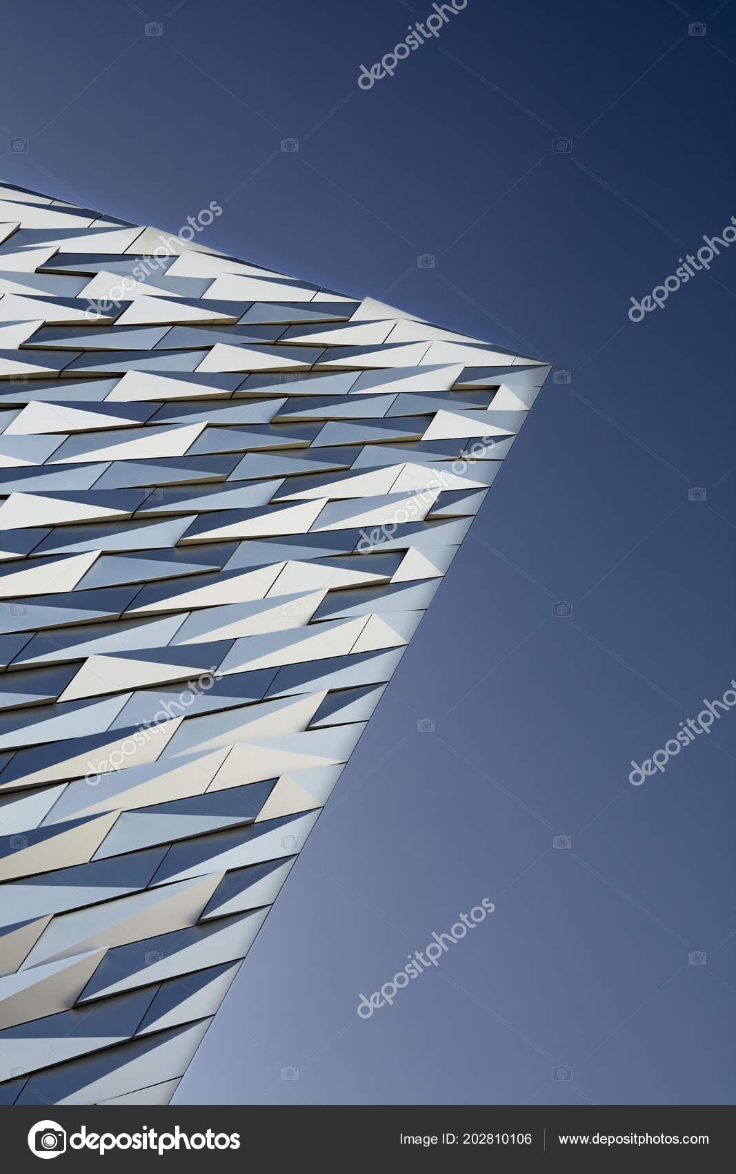 Tiles Walls Titanic Museum Blue Sky – Stock Editorial Photo ...