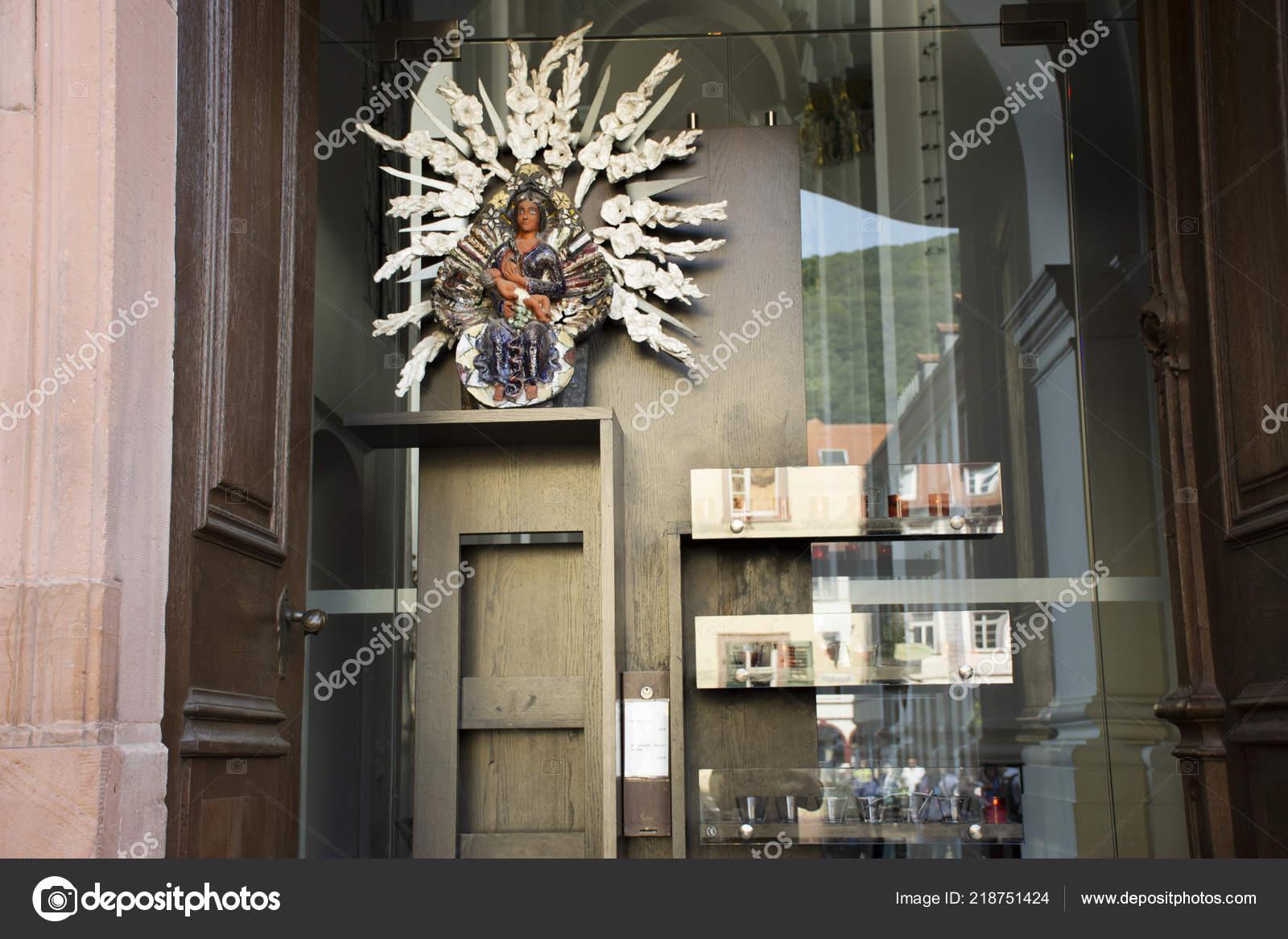 Souvenir Geschenk Shop Für Verkauf Reisende Personen Kirche