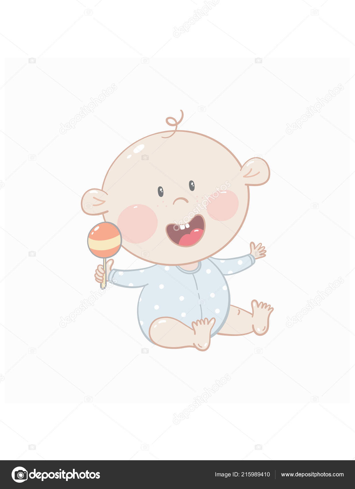 Outstanding Cute Baby Beanbag White Background Stock Vector C Webmuza Squirreltailoven Fun Painted Chair Ideas Images Squirreltailovenorg