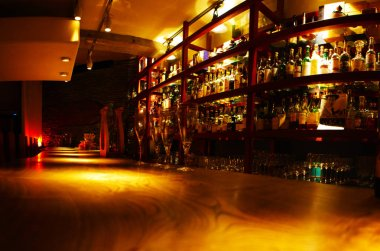 Image of the bar counter