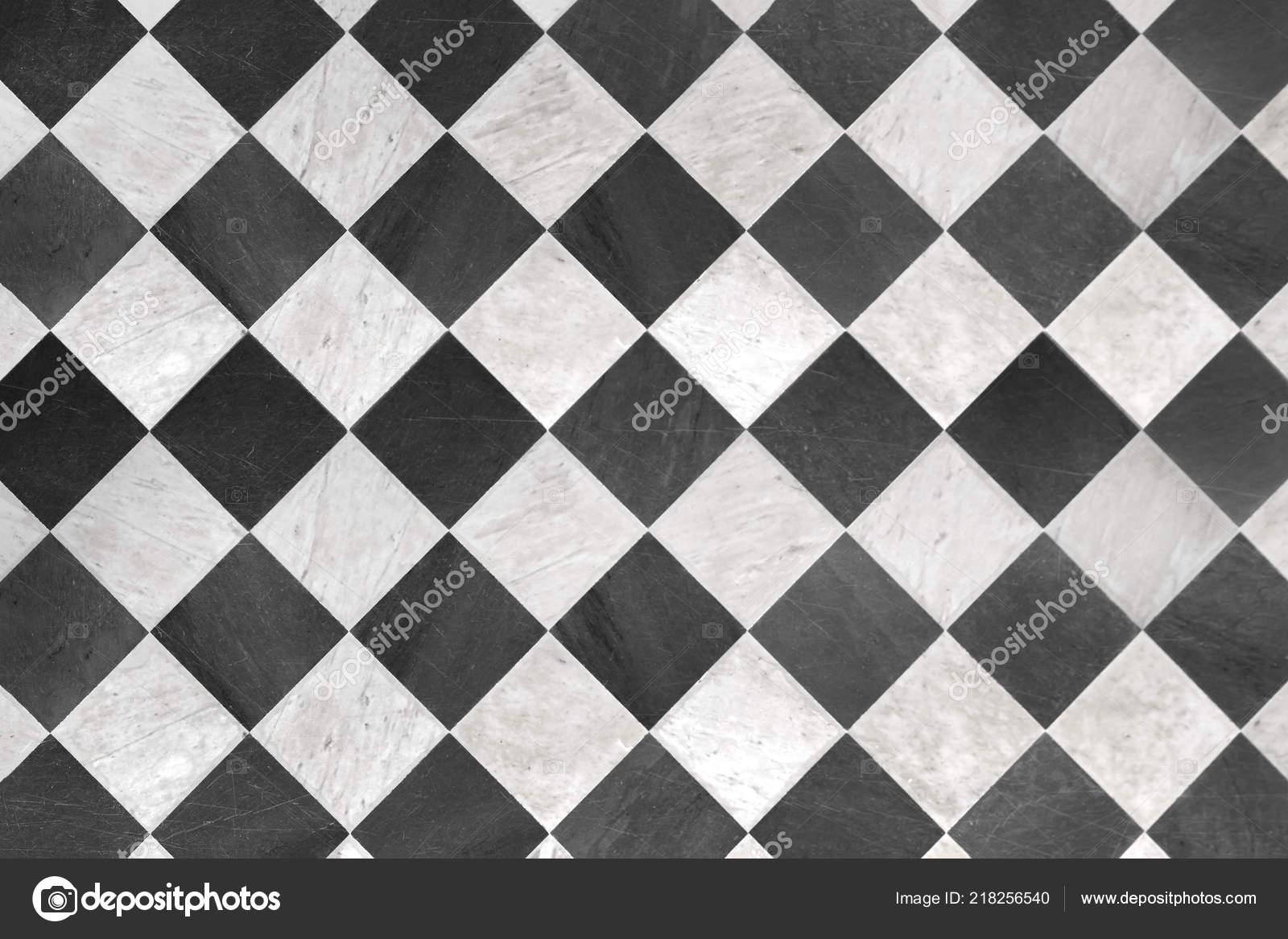 Schwarz Weiß Kariert Hintergrund