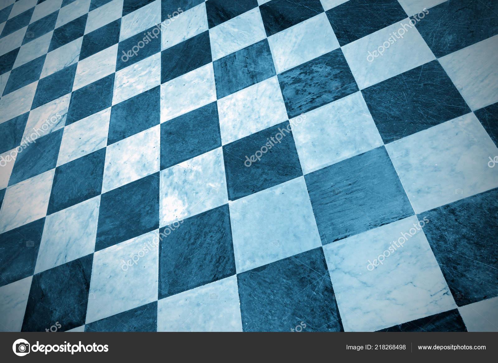 Fußboden Fliesen Schwarz Weiß ~ Schwarz weiß karierte bodenfliesen marmor hintergrund u stockfoto
